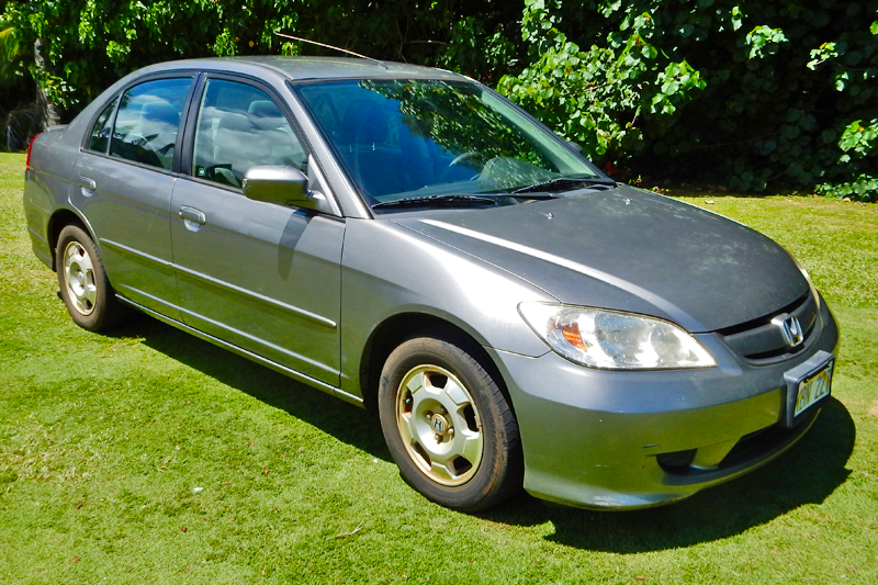 2004 Grey Honda Civic Hybrid