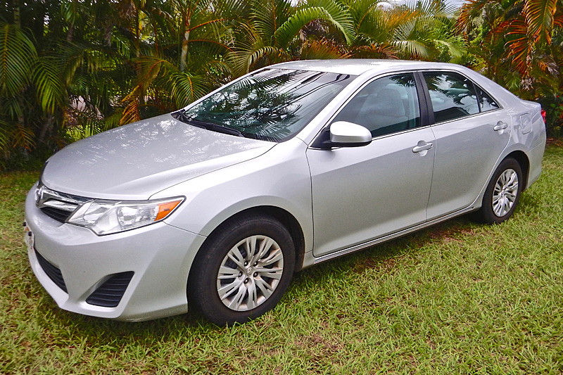 2013 Silver Toyota Camry